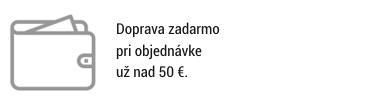 Doprava zadarmo nad 50 €