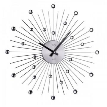 Dizajnové nástenné hodiny JVD HT071.1 antracit, 49cm
