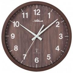 Nástenné hodiny Atlanta 4438/20, rádiom riadené, 27cm