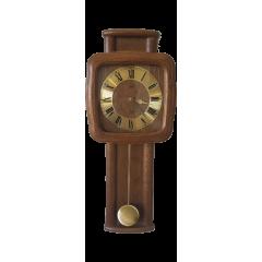 Drevené nástenné hodiny ASSO A17/274/4, 62cm