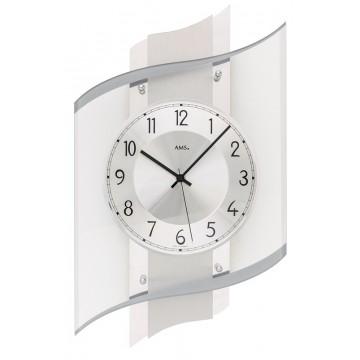 Dizajnové nástenné hodiny 5516 AMS 48cm