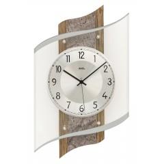 Dizajnové nástenné hodiny 5518 AMS 48cm