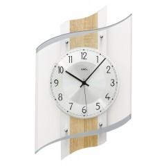 Dizajnové nástenné hodiny 5520 AMS 48cm