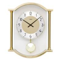 Dizajnové nástenné kyvadlové hodiny 7449 AMS 33cm
