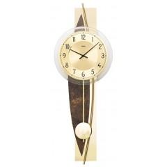 Dizajnové nástenné kyvadlové hodiny 7453 AMS 67cm