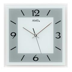 Dizajnové nástenné hodiny 9573 AMS 30cm