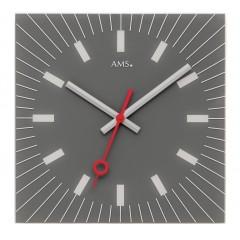 Dizajnové nástenné hodiny 9577 AMS 35cm