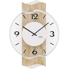 Designové nástenné hodiny AMS 9621, 39 cm