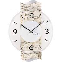 Designové nástenné hodiny AMS 9624, 39 cm
