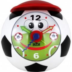 Detský budík MPM, C01.2566, Futbal, 10cm