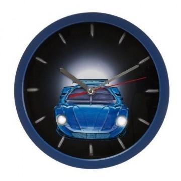 Detské hodiny auto SY100930BL Karlsson 25cm