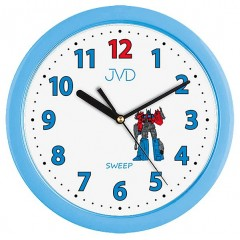 Detské nástenné hodiny JVD h12.6 25cm