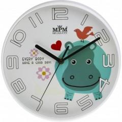 Detské nástenné hodiny MPM, 3232, 25cm
