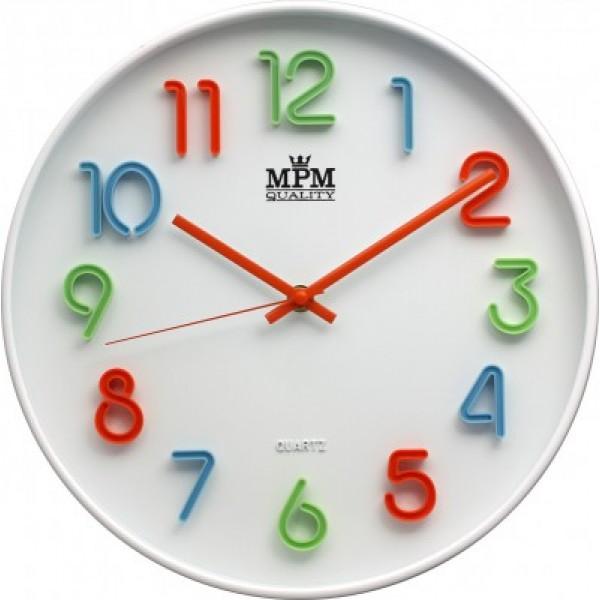 Detské nástenné hodiny MPM ec7d25795a
