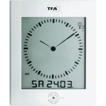 Digitálne DCF hodiny s analógovým zobrazením TFA , 220 x 265mm