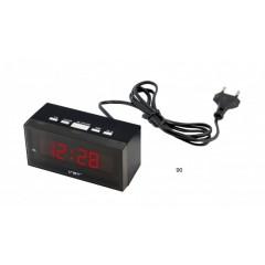 Digitálny LED budík MPM C02.3563, 12cm