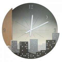 Dizajnové nástenné hodiny 01236 Calleadesign 30cm