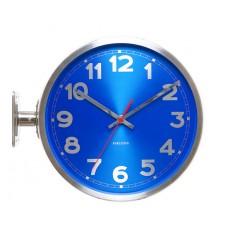 Dizajnové nástenné hodiny 5503BL Karlsson 31cm