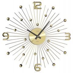 Dizajnové nástenné hodiny JVD HT074.1 49 cm