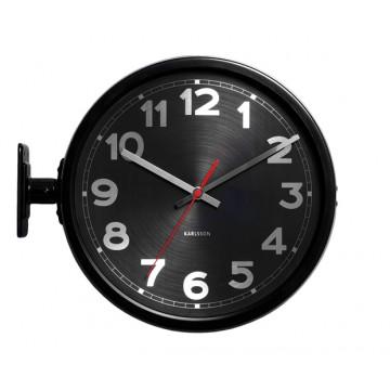Dizajnové nástenné hodiny 5503BK Karlsson 31cm