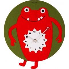 Dizajnové nástenné hodiny 3088 Nextime Redrique 30cm