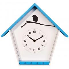 Dizajnové nástenné hodiny 3109bl Nextime Cuckey 33cm