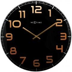 Dizajnové nástenné hodiny 3105bc Nextime Classy Large 50cm