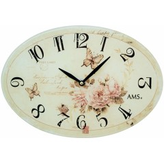 Dizajnové nástenné hodiny 9478 AMS 30cm