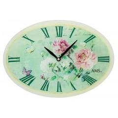 Dizajnové nástenné hodiny 9479 AMS 30cm