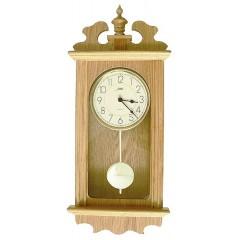 Drevené nástenné hodiny ASSO A19/2909/6, 55cm