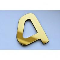 3D nalepovacie hodiny DIY NEPRI, 65 - 130 cm, zlaté