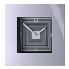 Hodiny Diamantini & Domeniconi Target silver aluminio 42cm