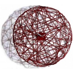 Hodiny Diamantini & Domeniconi Ci Vediamo red 50cm