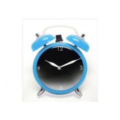 Hodiny Silly Twinbell Blue 35cm