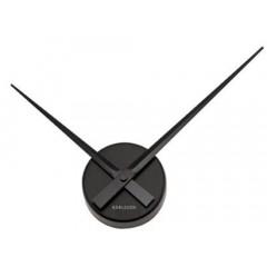 Nástenné hodiny Karlsson 4348BK, Little Big Time, čierne 45cm