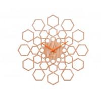Hodiny na stenu Karlsson KA5639WD, Sunshine Hexagon, 48cm