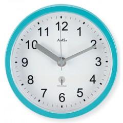 Kúpeľňové hodiny 5921 AMS riadené rádiovým signálom 16cm