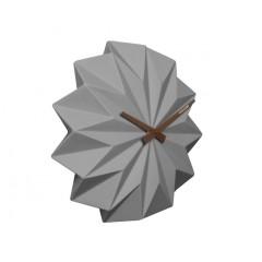 Nástenné hodiny KA5531GY Karlsson, Origami, 27cm