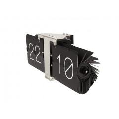Dizajnové preklápacie hodiny KA5601BK Karlsson 36cm