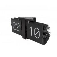 Dizajnové preklápacie hodiny KA5602BK Karlsson 36cm
