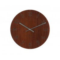 Nástenné hodiny KA5619afk, Karlsson Wood Dark, 40cm