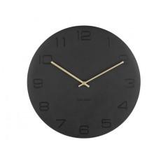 Nástenné hodiny Karlsson KA5667BK Vigorous 40cm