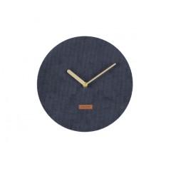 Nástenne hodiny Karlsson KA5671BL Corduroy 25cm