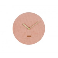 Nástenne hodiny Karlsson KA5671PI Corduroy 25cm