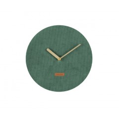 Nástenne hodiny Karlsson KA5671GR Corduroy 25cm
