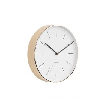 Nástenné hodiny 5695WH Karlsson Minimal, 28cm