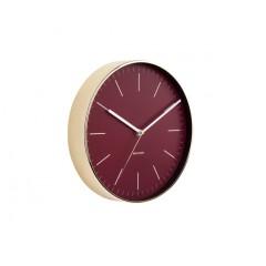 Nástenné hodiny 5695RD Karlsson Minimal, 28cm