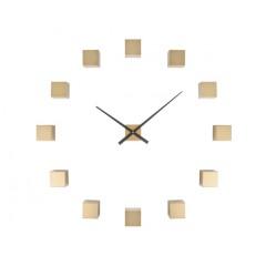 Nástenné hodiny Karlsson KA5698GD Diy Cubic Gold