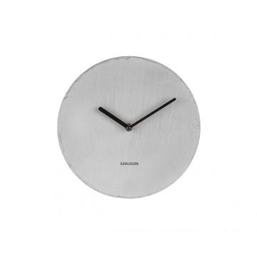 Bridlicové nástenné hodiny KA5713GY Karlsson 25cm