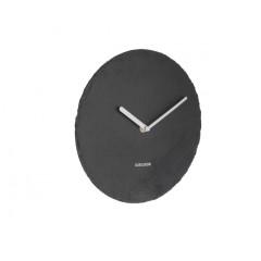 Bridlicové nástenné hodiny KA5713BK Karlsson 25cm